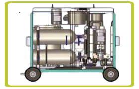 Centrifugal Oil Cleaning System for Solid Removal