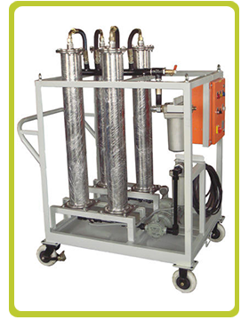 TAN Reduction for EH Oil Filtration System