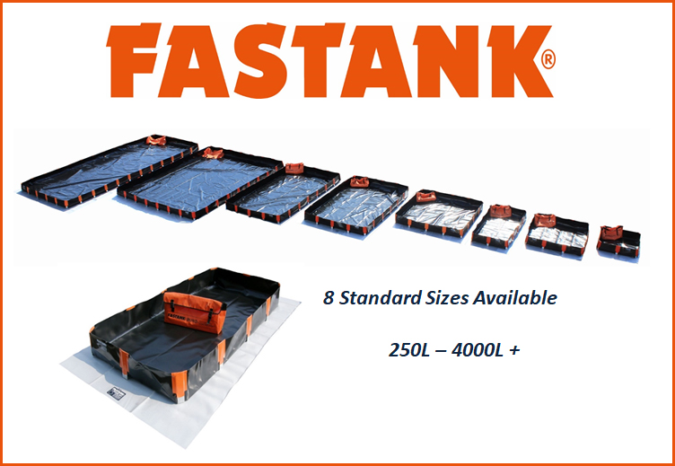 Collapsible Bunds - FASTANK Malaysia Singapore Brunei