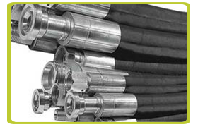 Industrial Hoses, Hydraulic Hoses, Fittings and Couplings