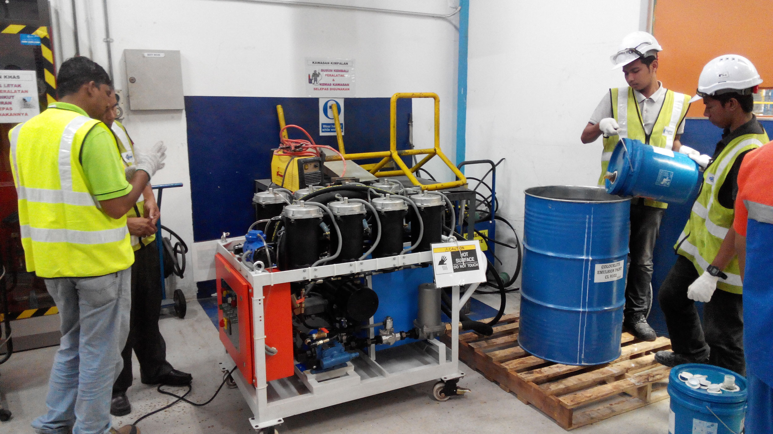 oil filtration services Malaysia